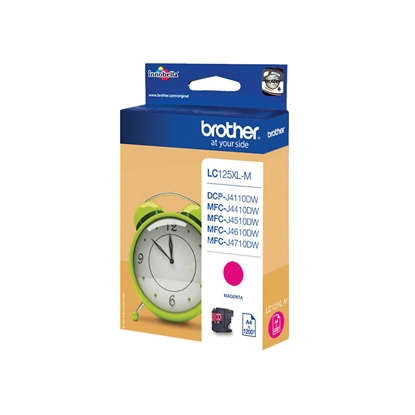 Picture of Brother LC125XL Cartridge Magenta J4510DW, 1200 pages/5%