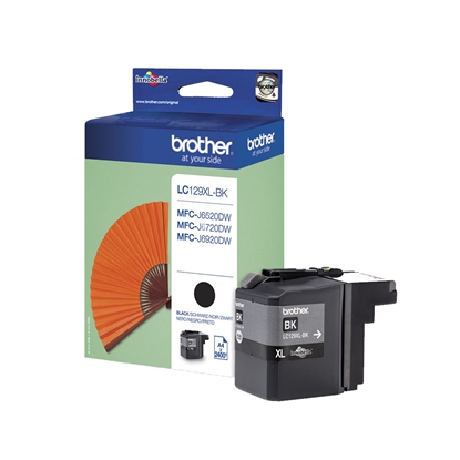 Picture of Brother LC129XL Cartridge Black, 2400 pages/5%