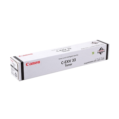 Picture of Toner Canon C-EXV33, IR2520/2525/2530, 14600 pages/5%, Black