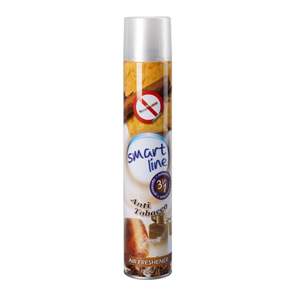Picture of Smartline Air freshener, spray, against cigarette smoke, 400 ml