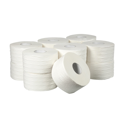 Picture of Toilet paper, three-ply, cellusole, 400 g, 12 pcs.