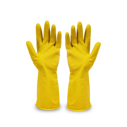 Picture of Antesto Household latex gloves, L