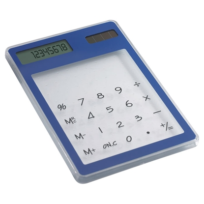 Picture of Calculator Clearal 8-digit, white and blue