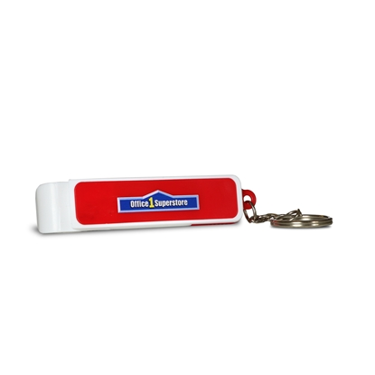 Picture of TOPS key ring Double Open, red
