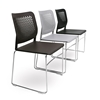 Picture of Narbutas Visitor chair Wait, 540x535x830 mm, white plastic