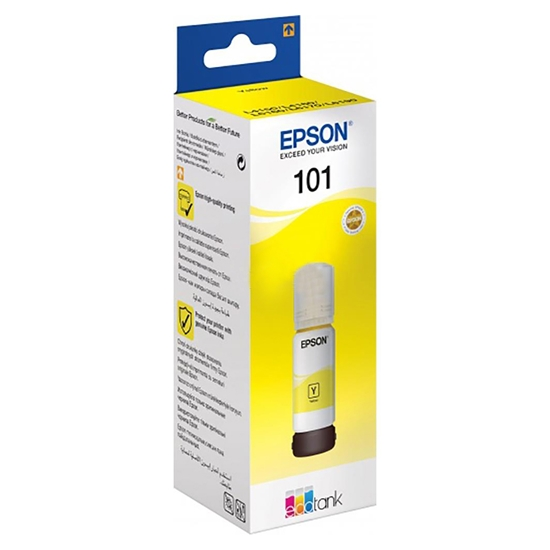 Picture of Epson Ink 101, C13T03V44A, 6000 pages, Yellow