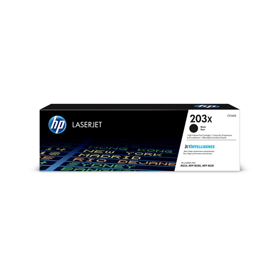 Picture of HP Toner CF540X, m254/m280/281, 3200 pages/5%, Black