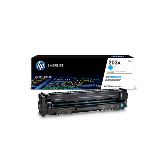 Picture of HP Toner CF541A, m254/m280/281, 1300 pages/5%, Cyan