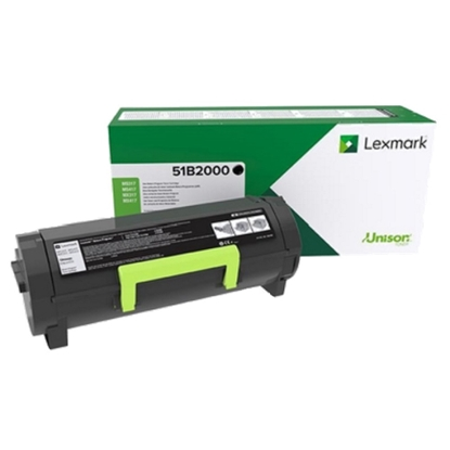 Picture of Lexmark Toner 51B2000, МS/MX317, 2500 pages/5%, Black