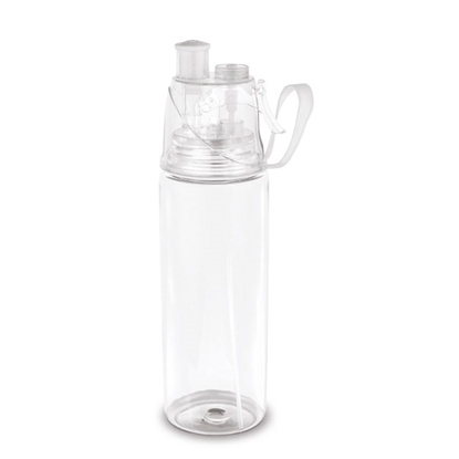 Picture of Hi!dea bottle, sports, with pulverizer, see-through