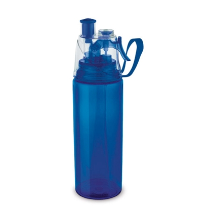 Picture of Hi!dea bottle, sports, with pulverizer, blue