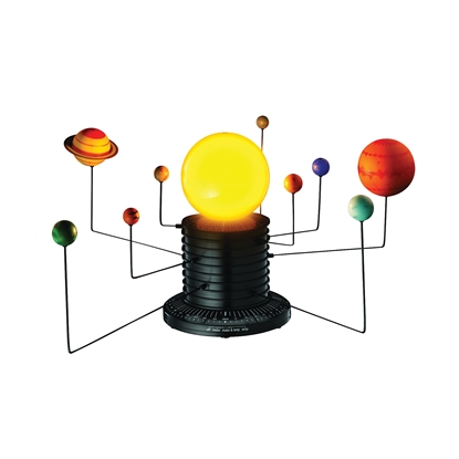 Picture of Solar system model, automated