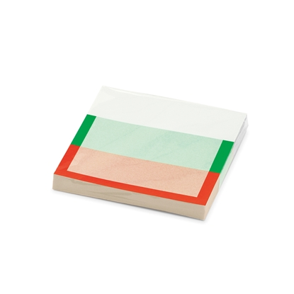 Picture of Stickn Sticky Notes, 70 x 70 mm, Bulgarian flag, 100 sheets, dinosaur