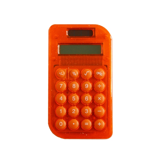 Picture of Beifa calculator WMZ ACA004, 8-digit, orange