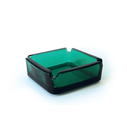 Picture of Ash-tray Solid, glass, square, 3L, 6 pcs