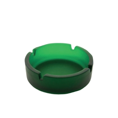 Picture of Ash-tray Frosty, circular, green