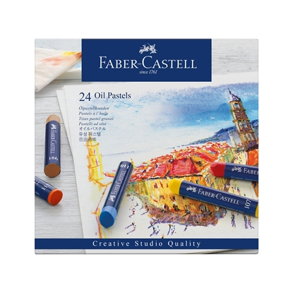 Picture of Faber-Castell oil pastels Goldfaber, 24 colors