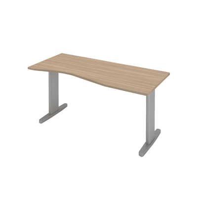 Picture of B801GR Desk, 140 x 70 x 74 cm, ash