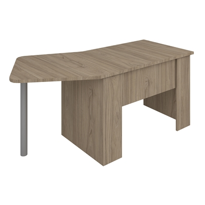 Picture of B50R Desk, 180 x 90 x 74 cm, ash
