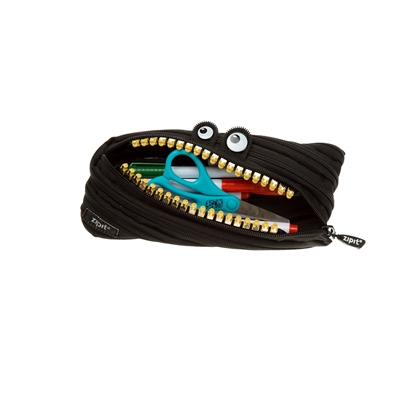 Picture of ZIPIT pencil pouch Grillz, medium, black