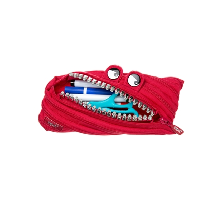 Picture of ZIPIT pencil pouch Grillz, medium, red