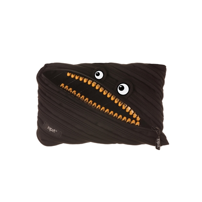 Picture of ZIPIT pencil pouch Grillz, jumbo, black