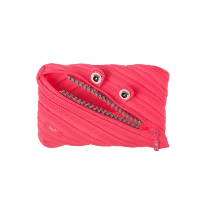 Picture of ZIPIT pencil pouch Grillz, jumbo, pink