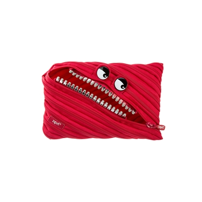 Picture of ZIPIT pencil pouch Grillz, jumbo, red