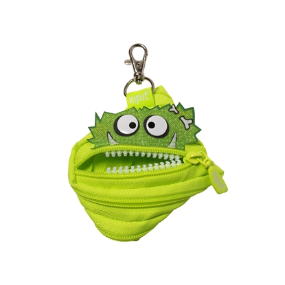 "Picture of ZIPIT pouch ""Talking monstar"", mini, light green"