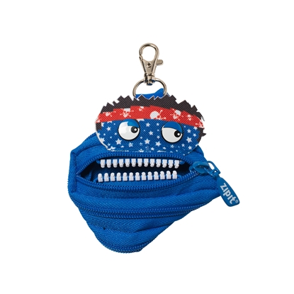 "Picture of ZIPIT pouch ""Talking monstar"", mini, royal blue"