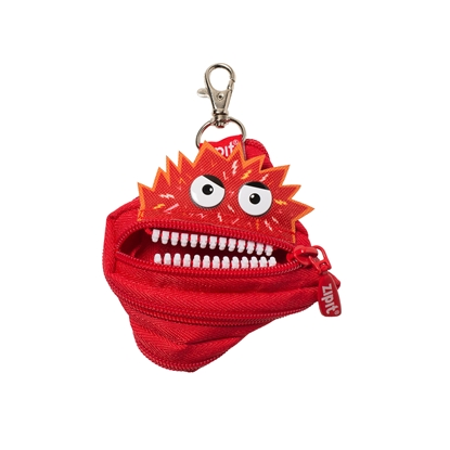 "Picture of ZIPIT pouch ""Talking monstar"", mini, red"