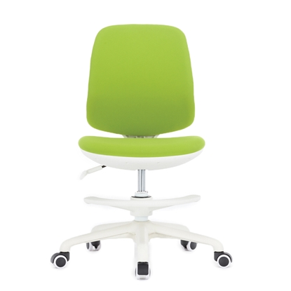 Picture of RFG Childrens chair Candy Foot White, upholstery, green seat, green backrest