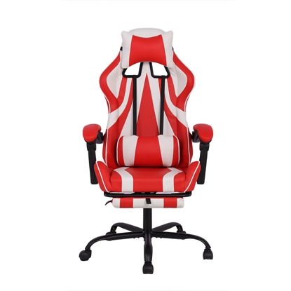 Picture of RFG Max Game Chair, ergonomic, red and white