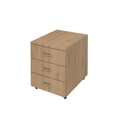 Picture of K3 Container with 3 drawers, 41 x 51 x 51 cm
