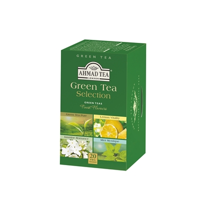 Picture of Ahmad Green Selection Tea, 2 g, in sachets, 20 pcs.