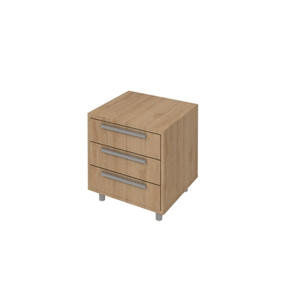 Picture of K7 Container with 3 drawers, 55 x 50 x 58 cm