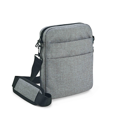 Picture of Hi!dea Shoulder bag Graphs, 220 x 270 x 45 mm, grey