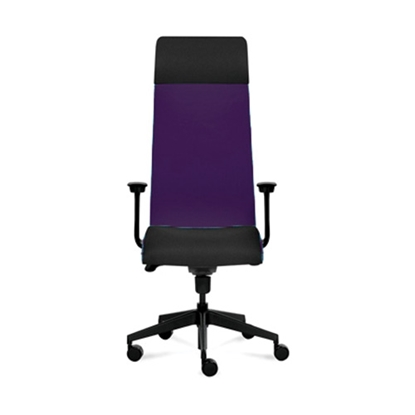 Picture of Solium Executive Chair, ergonomic, aubergine