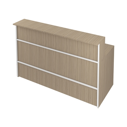 Picture of R2 Reception Desk, straight, 160 x 74 x 113 cm