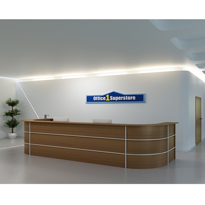 Picture of R3 Reception Desk, straight, 120 x 74 x 113 cm