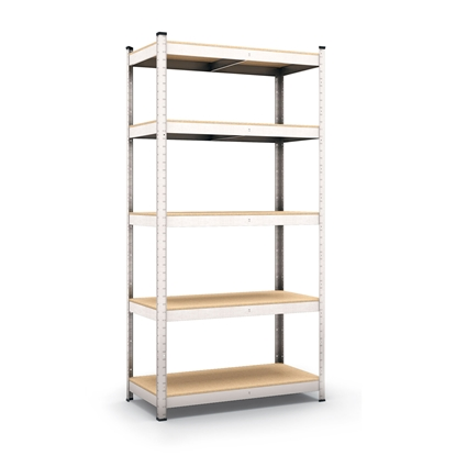 Picture of Standart Rack with 5 shelves, 90 x 40 x 180 cm, fiberboard