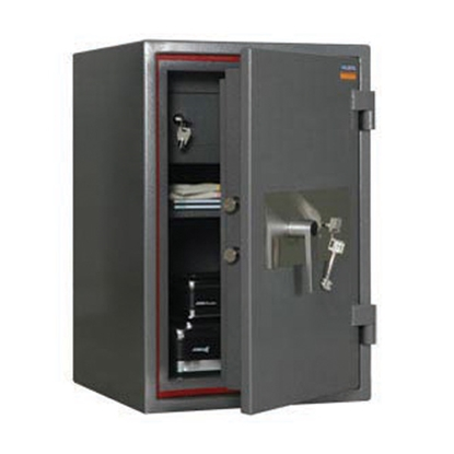 Picture of ASG 67 Safe with mechanical lock, fire-proof, 67 x 44 x 44 cm
