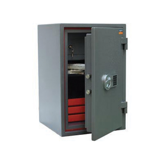 Picture of ASG 67 Safe with electronic and mechanical lock, fire-proof, 67 x 44 x 44 cm