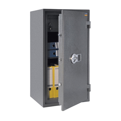 Picture of ASG 95 Safe with electronic and mechanical lock, fire-proof, 95 x 50.5 x 44 cm