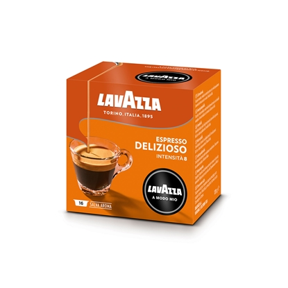 Picture of Lavazza Coffee capsule A Modo Mio Delisiozo, 16 pcs.