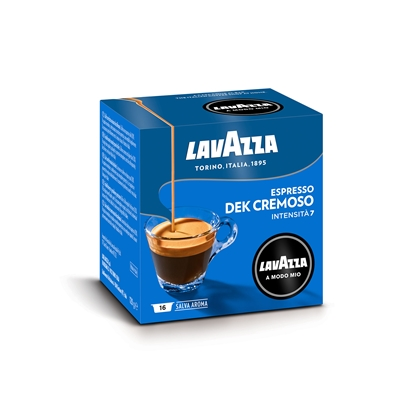 Picture of Lavazza Coffee capsule A Modo Mio Dek Cremoso, 16 pcs.
