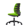 Picture of RFG Childrens chair Lucky Black, damask, green seat, green backrest