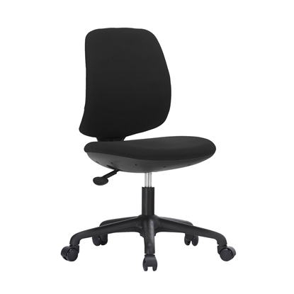 Picture of RFG Childrens chair Lucky Black, damask, black seat, black backrest