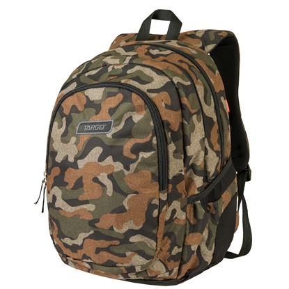 Picture of Target Backpack 3 Zip Duel Melange Army, green
