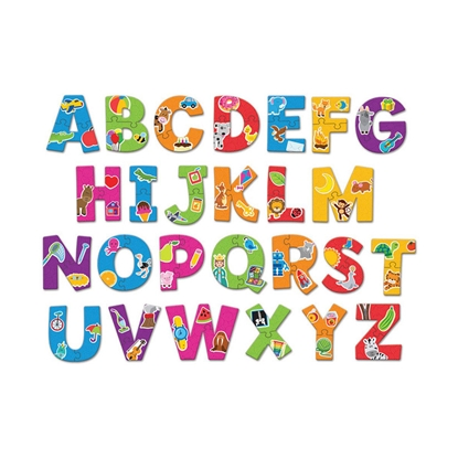 Picture of Puzzle English alphabet